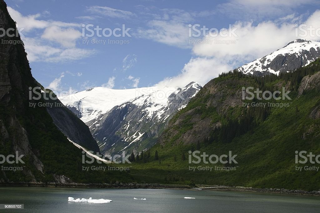 Glaciated Valley royalty-free stock photo