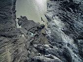 Glacier aerial photo