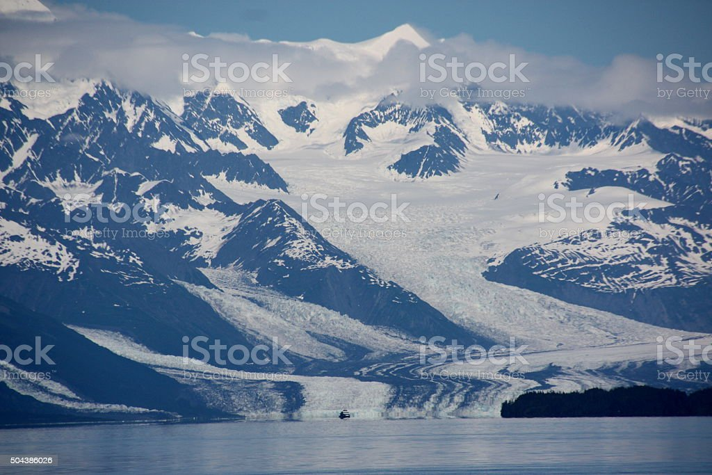 Glacier - Alaska stock photo