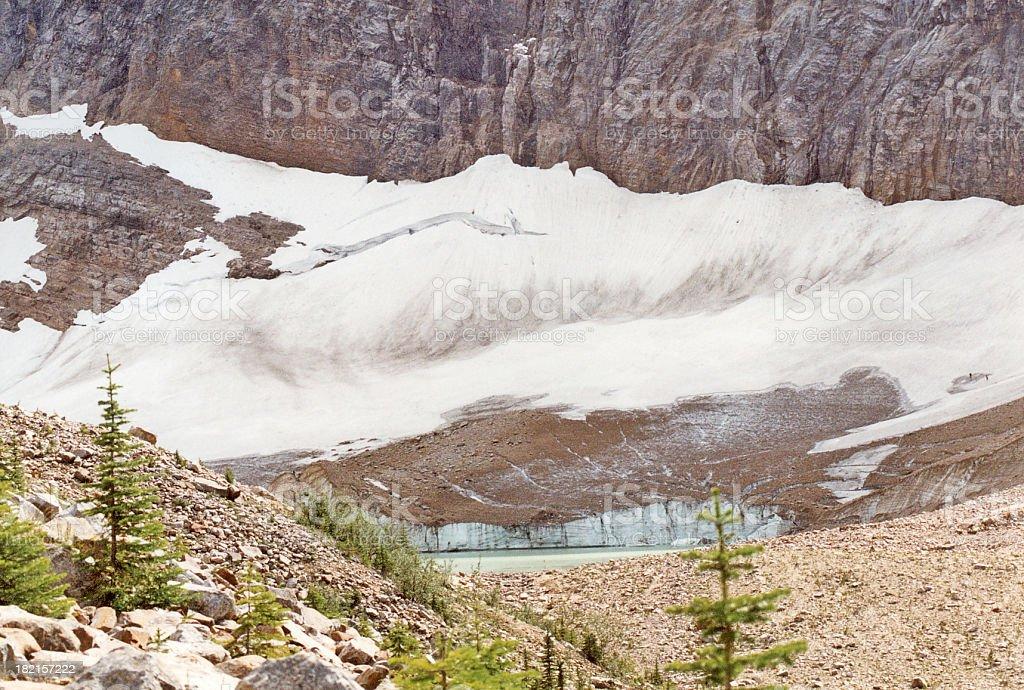 Glacier Base stock photo
