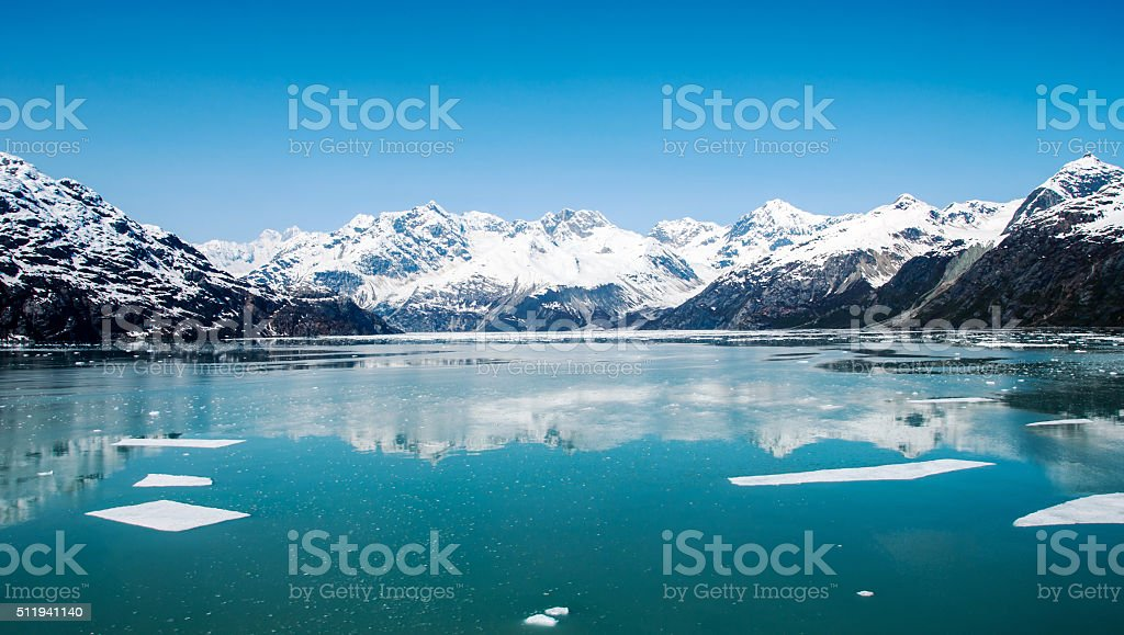Glacier Bay National Park, Alaska stock photo