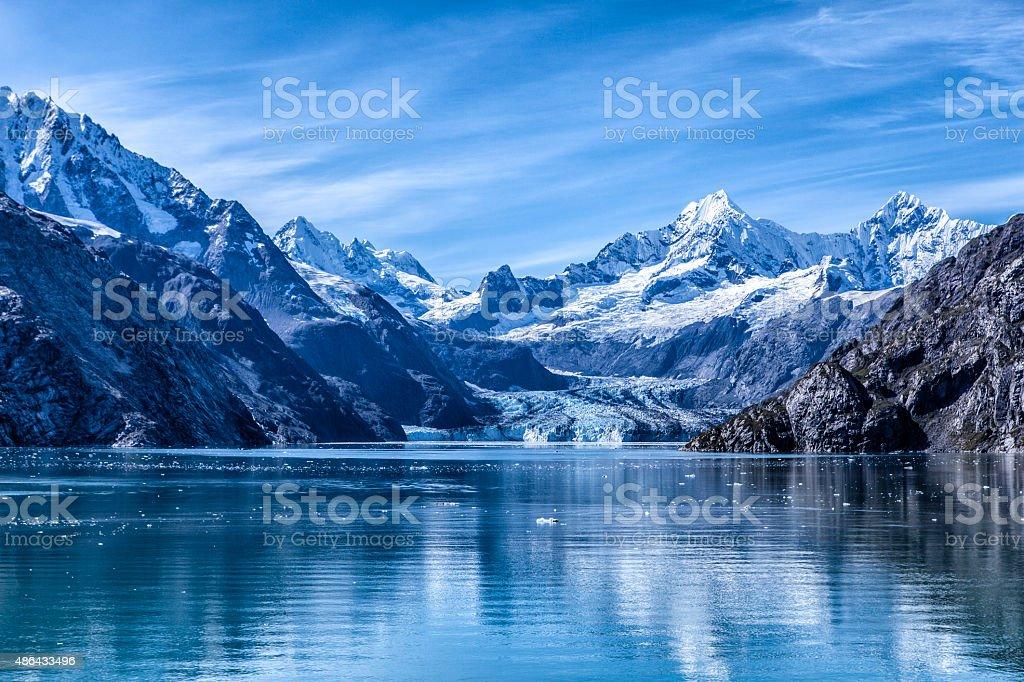 Glacier Bay National Park and Preserve, Alaska stock photo