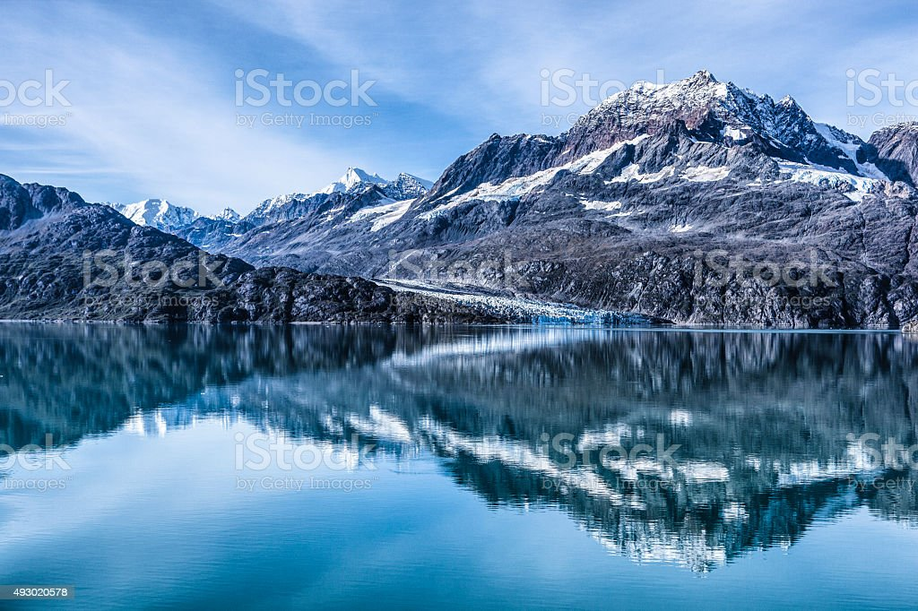Glacier Bay National Park and Preserve, Alaska stock photo