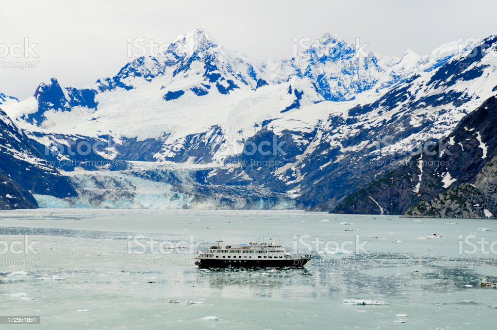 Glacier Bay National Park royalty-free stock photo