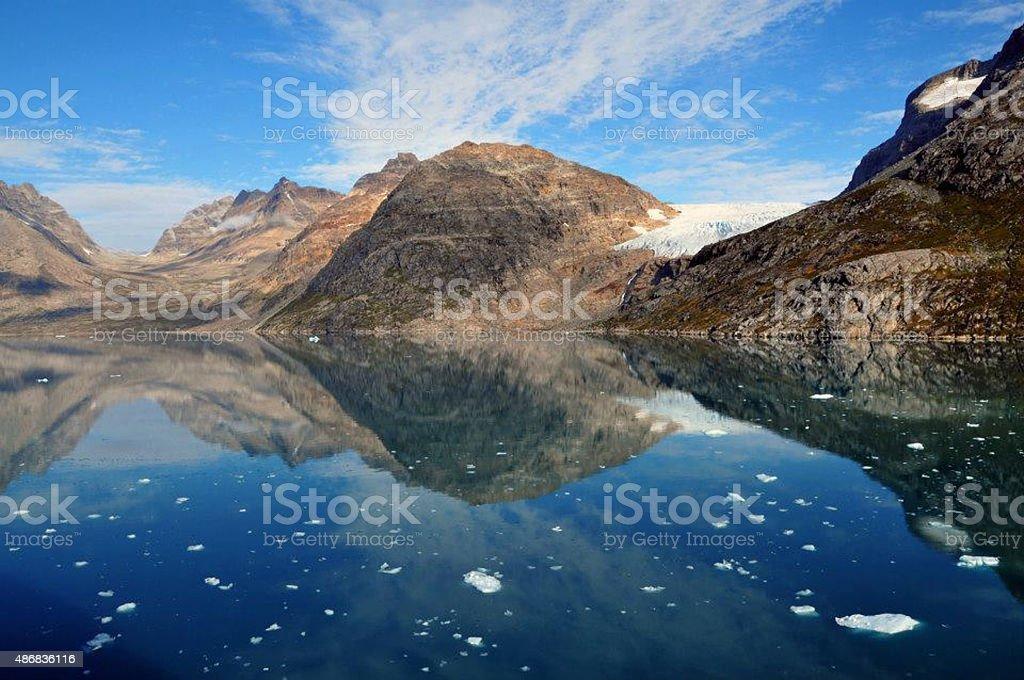 Glacier Bay National Park stock photo