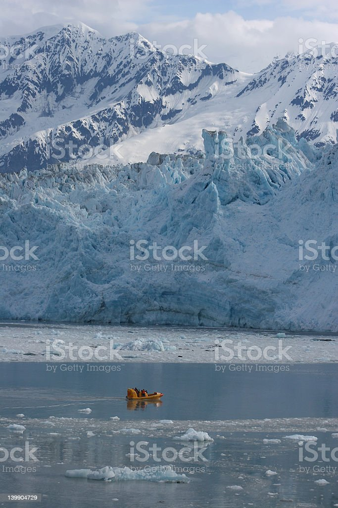Glacier Cruise royalty-free stock photo
