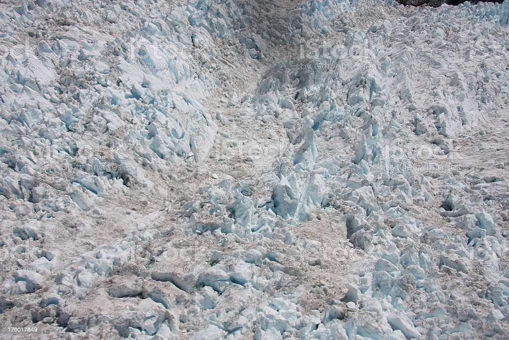 Glacier Dirt royalty-free stock photo