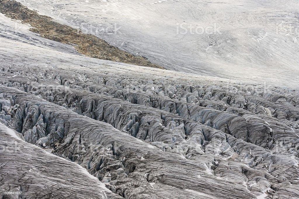 Glacier du Tour, Rhone-Alpes royalty-free stock photo