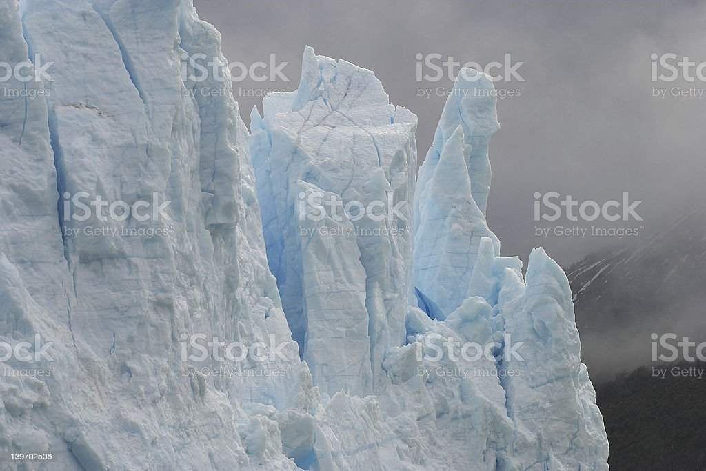 Glacier - El Calafate stock photo