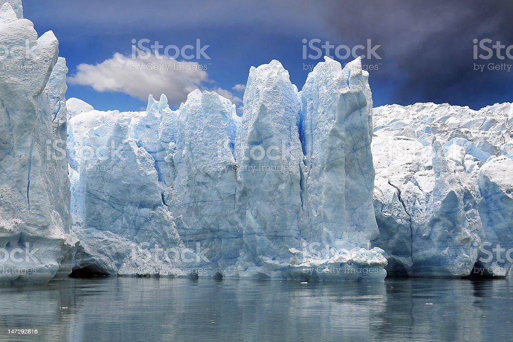 Glacier ice royalty-free stock photo