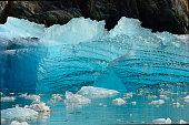 Glacier Ice Shelf in Alaska