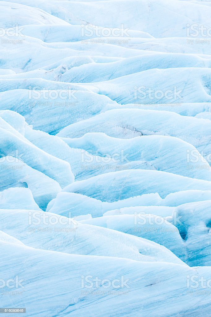Glacier Iceland stock photo