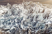 Glacier in Nepal mountains