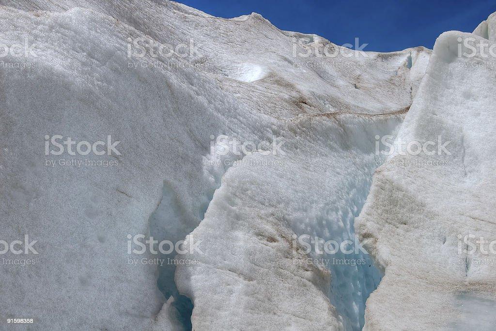 Glacier in Norway royalty-free stock photo