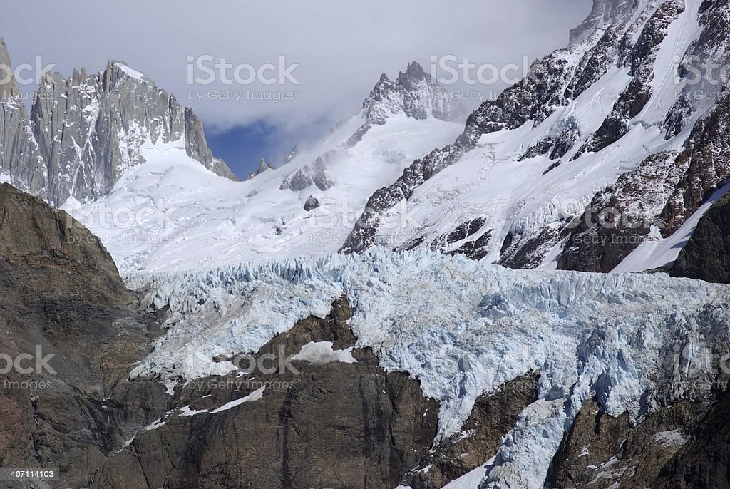 Glacier in Patagonia royalty-free stock photo