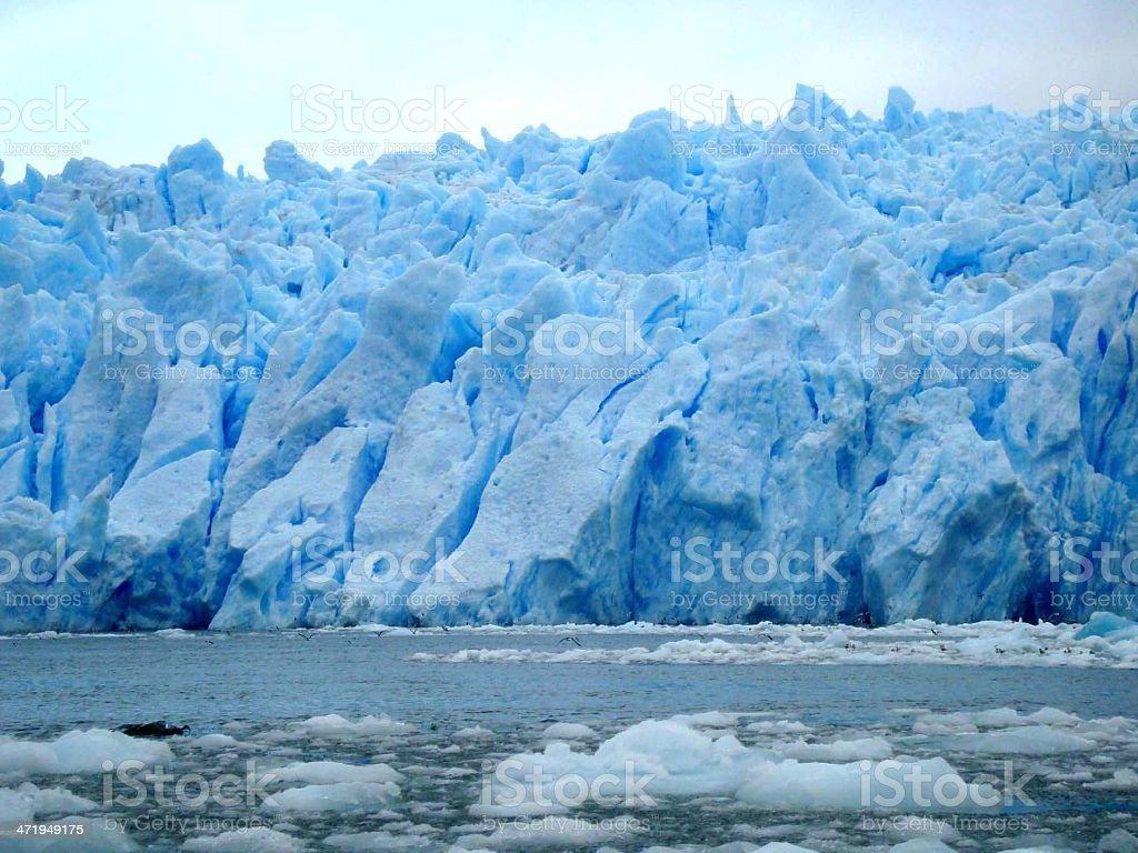 Glacier Laguna San Rafael in Chile stock photo