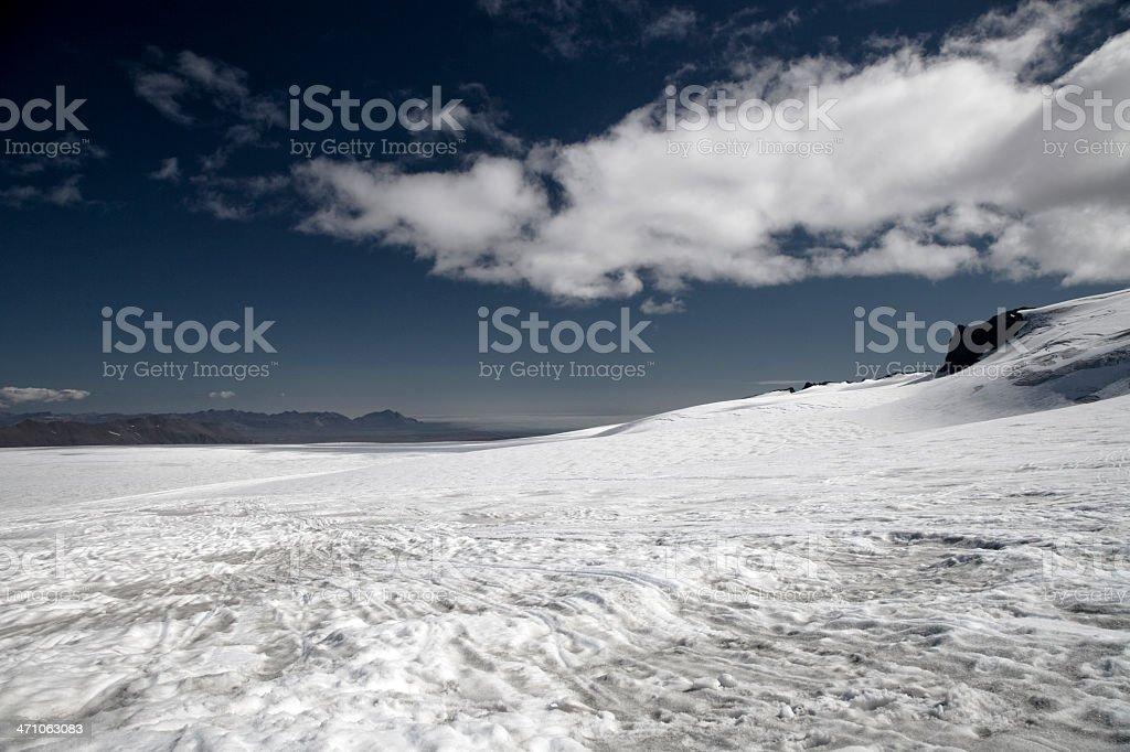 Glacier Landscape royalty-free stock photo