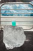 Glacier margarita on cruise ship