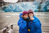 Glacier margaritas in Alaska