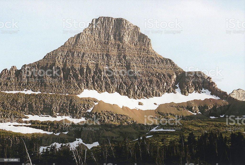 Glacier National Park - Northwest Montana royalty-free stock photo