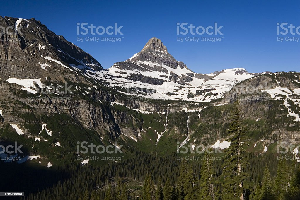 Glacier National Park royalty-free stock photo