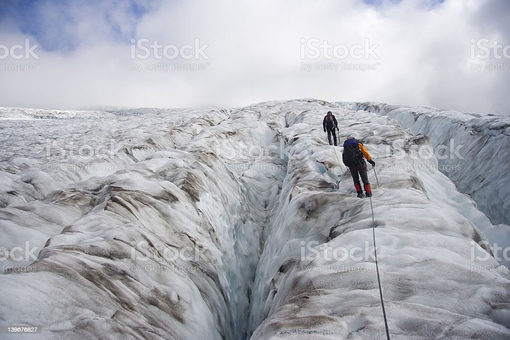 Glacier Navigation royalty-free stock photo