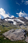 Glacier of Bernina Alps - Engadine Switzerland