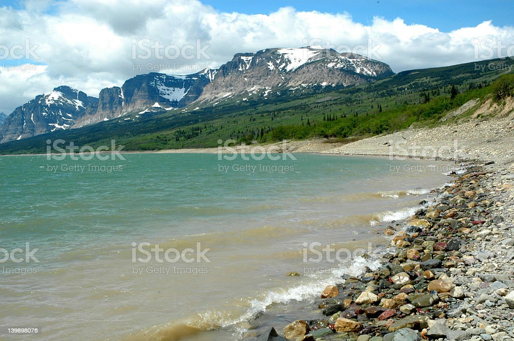 Glacier Park royalty-free stock photo