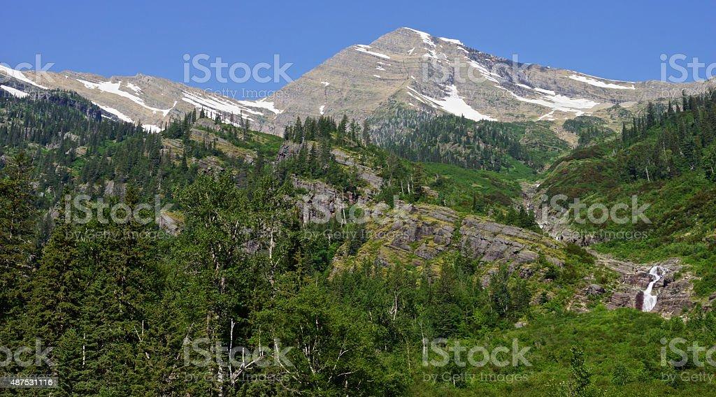Glacier Park Pristine stock photo