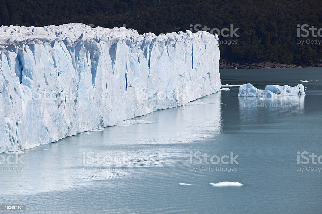 Glacier Perito Moreno National Park in Argentina, Patagonia royalty-free stock photo