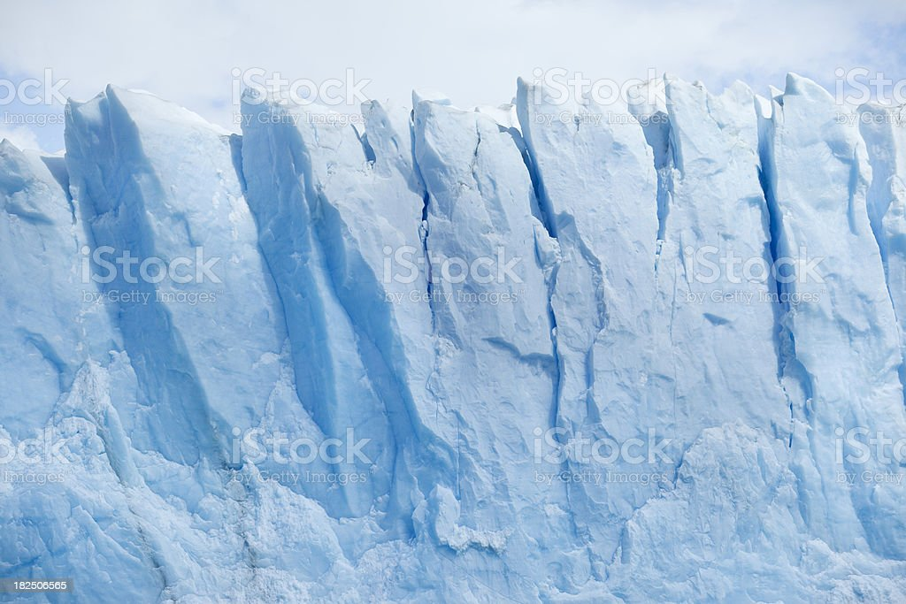 Glacier Perito Moreno National Park in Argentina, Patagonia stock photo