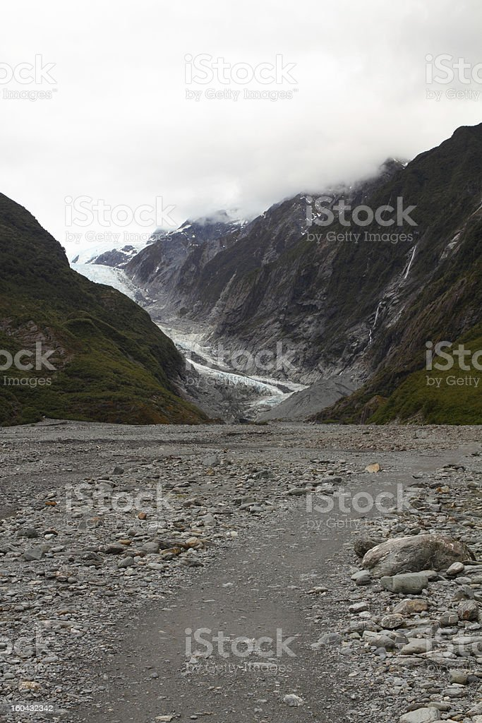 Glacier royalty-free stock photo