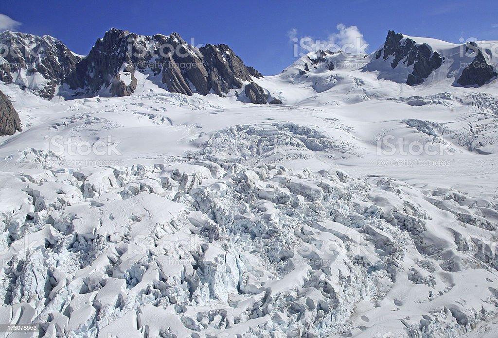 Glacier royalty-free stock photo