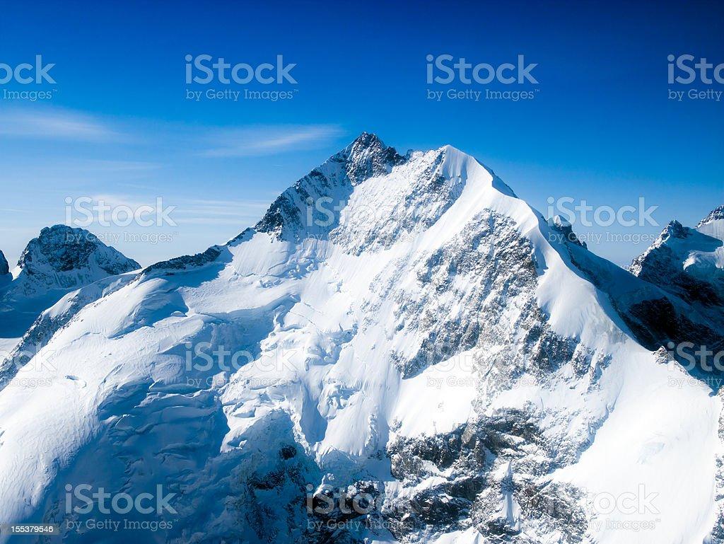 Glacier Piz Bernina - 4050 mt. stock photo
