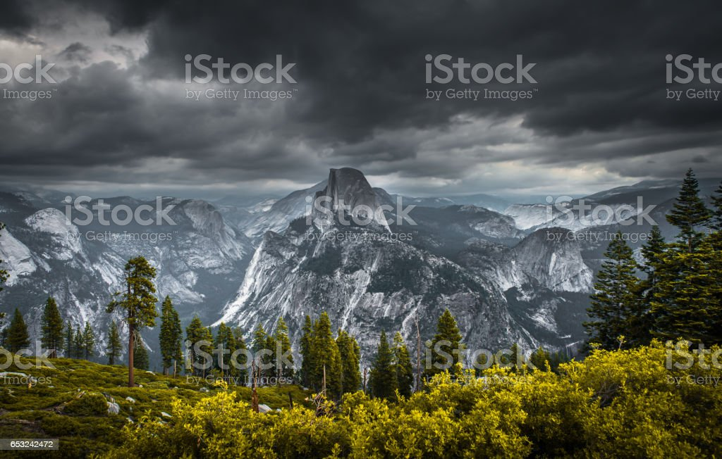 Glacier Point stock photo