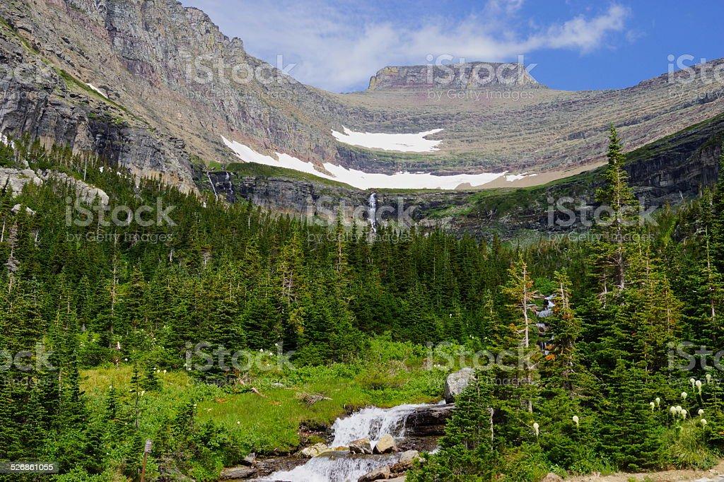 Glacier Pristine stock photo