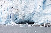 Glacier Snow Calving Ice Floes