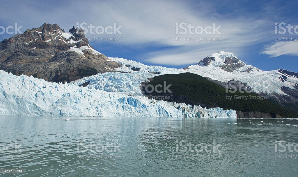 Glacier Spegazzini, Argentina stock photo