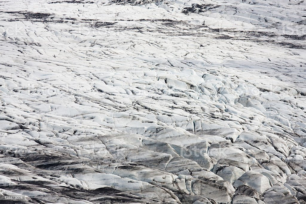 Glacier Surface royalty-free stock photo