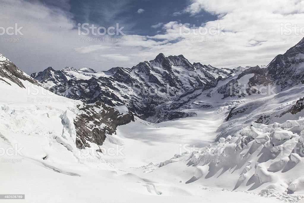 Glacier Switzerland royalty-free stock photo
