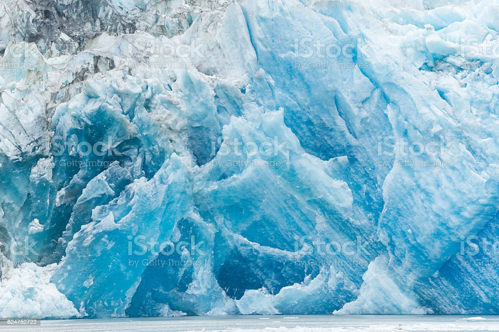 Glacier Tracy Arm Fjord stock photo