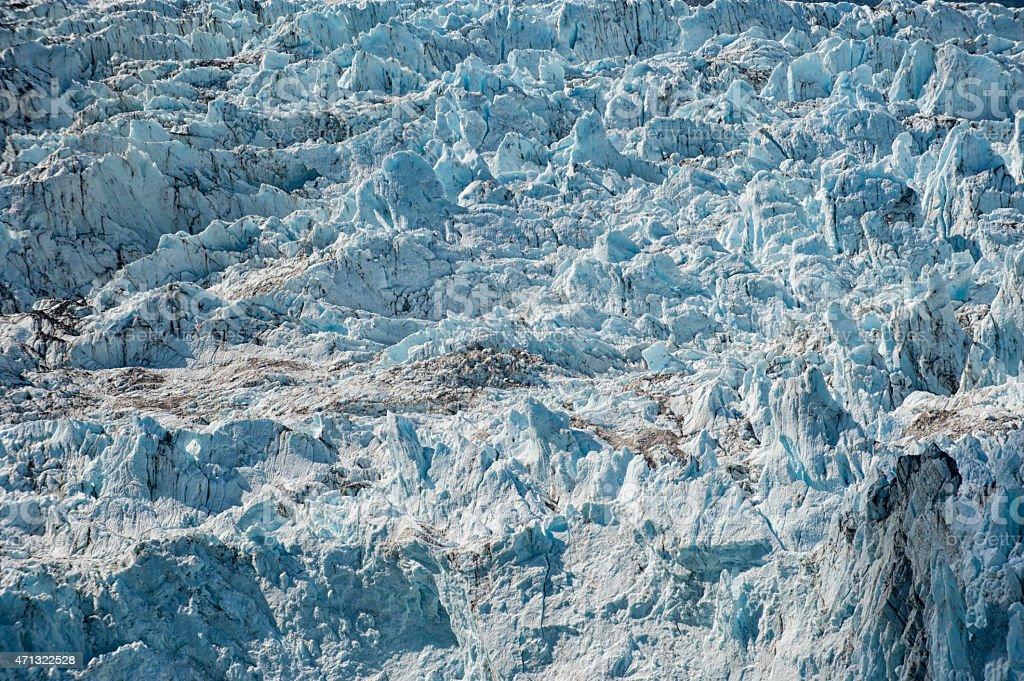 Glacier view in Alaska stock photo