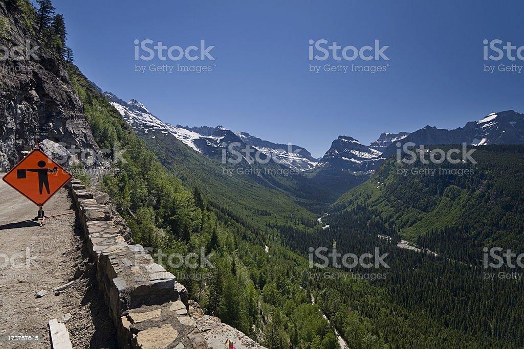 Glacier Viewpoint royalty-free stock photo