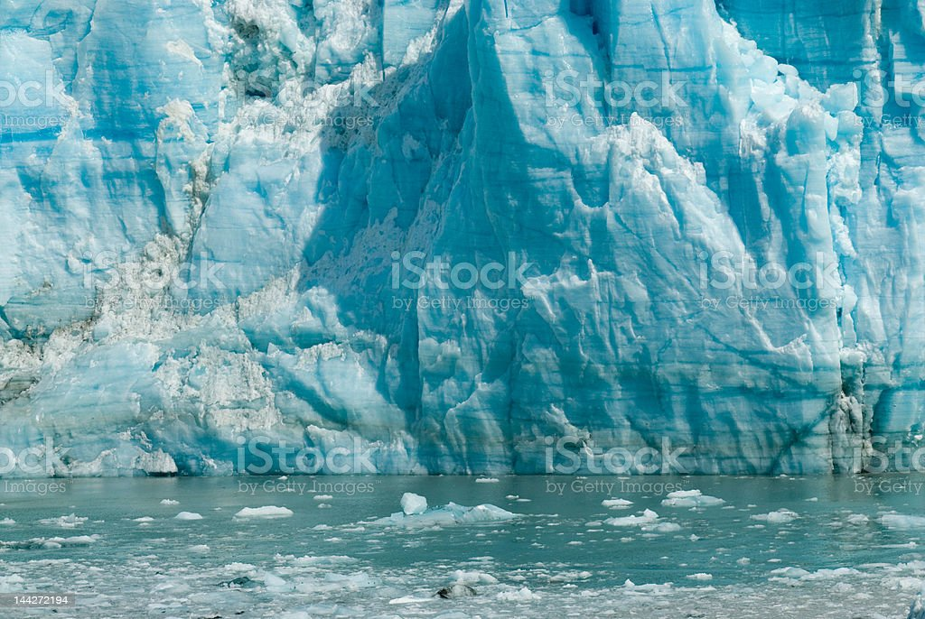Glacier Water Blue Cold Ice Global Warming Series stock photo