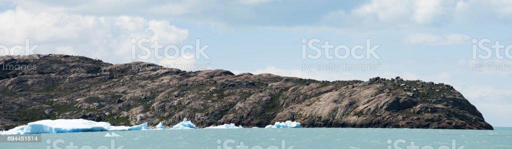Lake Argentino, Glaciers National Park, Argentina - November 2010:...