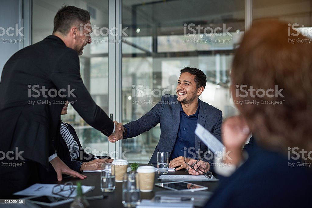 Glad to have you on board stock photo