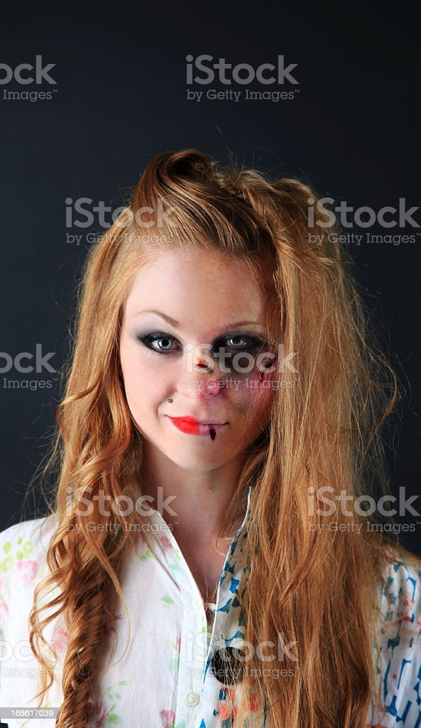 Glam and gore stock photo