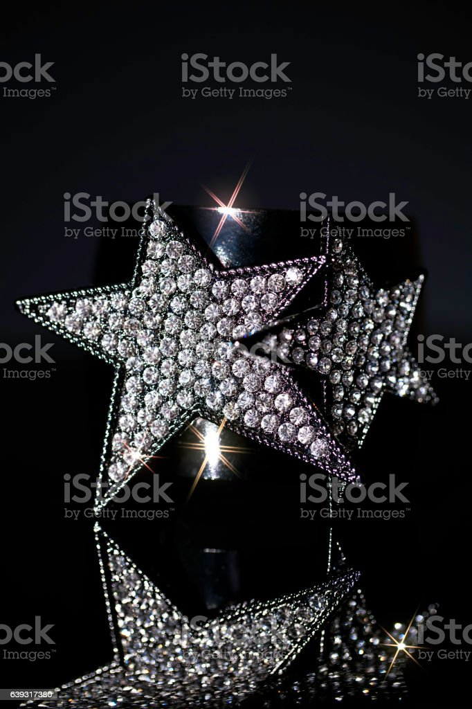 Glam Rock Costume Jewellery stock photo