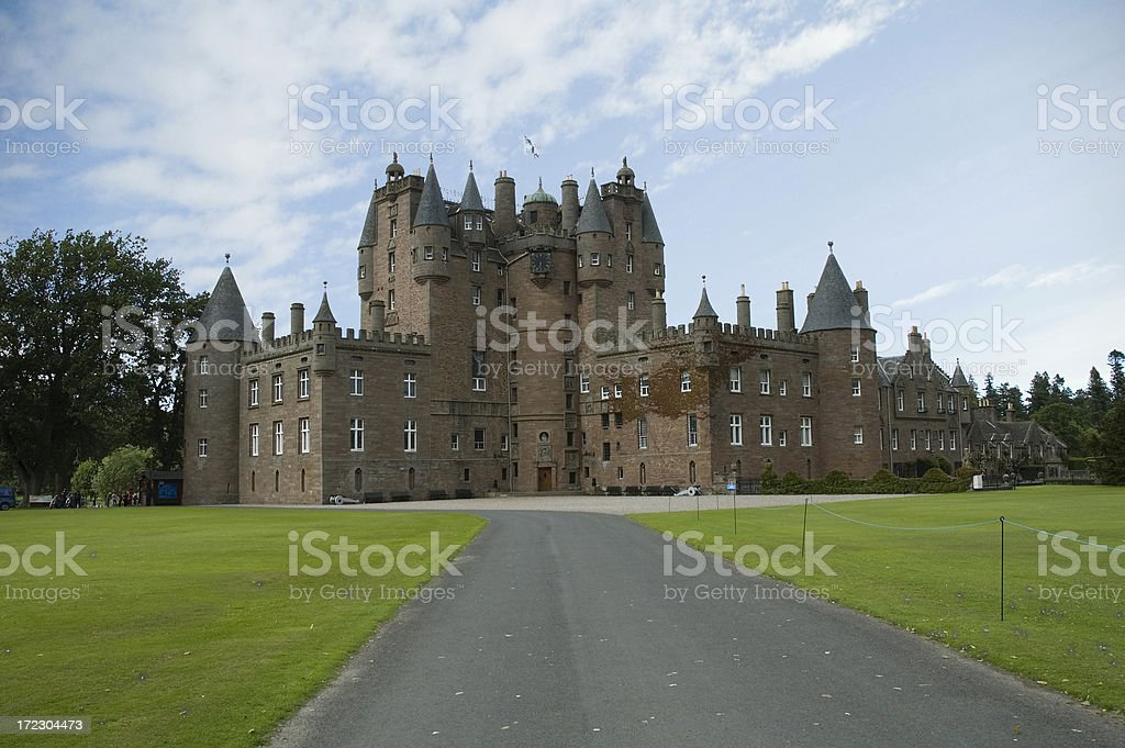 Glamis Castle royalty-free stock photo