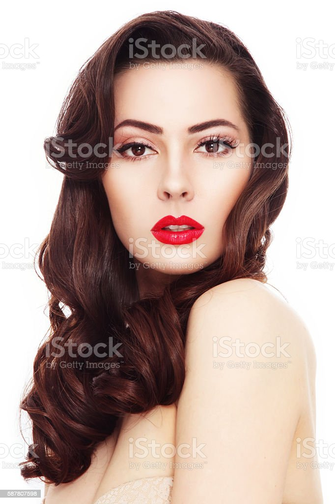 Glamorous beauty stock photo